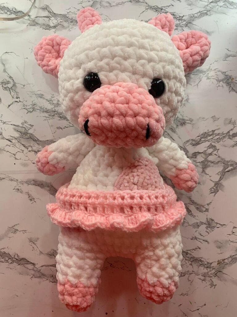 Strawbery Cow Crochet