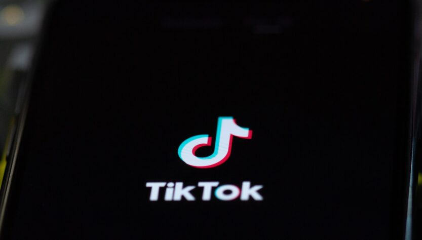 TikTok Logo on Phone